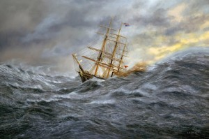 royal charter storm 1859 carrington event